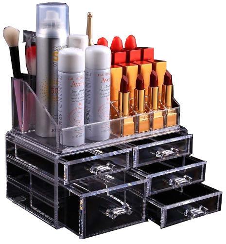 5 Drawer Cosmetics & Jewelry Storage Box