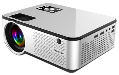Cheerlux C9 HD WiFi Smart Projector with Built-in TV