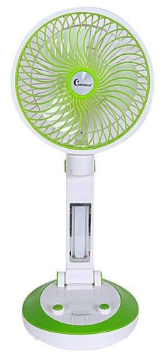 Supermoon Portable Fan Rechargable Battery with Light