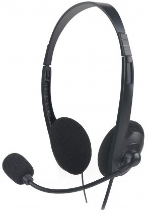 Micropack MHP-01 3.5mm Black Headphone