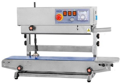 Vertical Automatic Continuous Band Sealer Machine