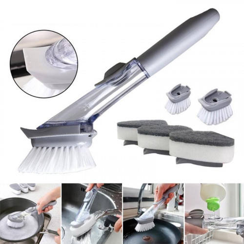 Dishwashing Sponge Brush for Kitchen Cleaning