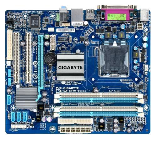 Gigabyte Ga G41m Combo Socket Lga775 Motherboard Price In