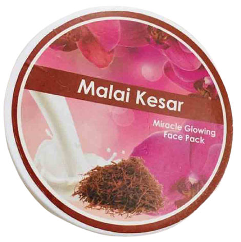 Malai Kesar Miracle Glowing Face Pack