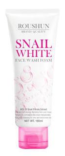 Roushun Snail White Face Wash Foam-180ml