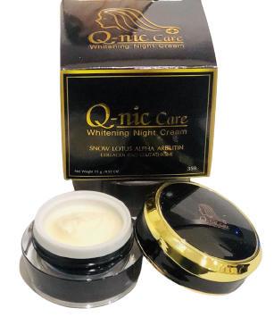 Q-nic Care Whitening Night Cream-15gm