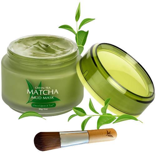 Green Tea Matcha Facial Mud Mask-85g