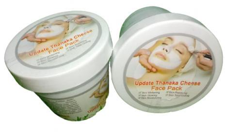 Update Thanaka Cheese Face Pack