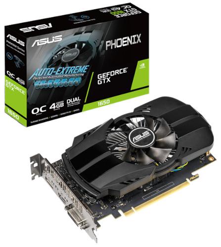 Asus Phoenix GeForce GTX 1650 4GB GDDR6 Graphics Card