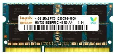 Hynix PC3-12800S 4GB DDR3 Laptop RAM