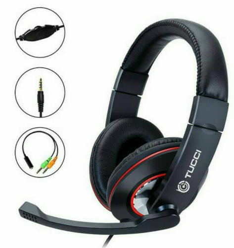 Tucci X8 Super Bass Stereo Fighter Gaming Headphone