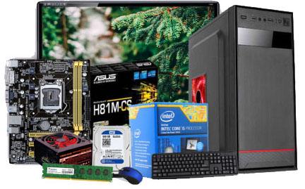 "Budget PC Intel Core i5 4th Gen 19"" LED Monitor"