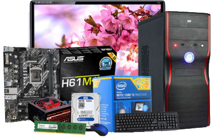 Intel Core i5 3rd Gen Computer with 19'' LED Monitor