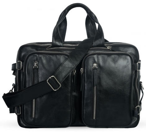 Shainpur SN-B05 Dual Use Leather Backpack Travel Bag