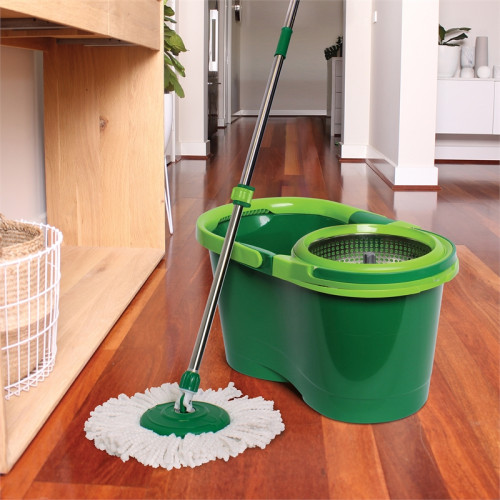 Magic Spin Mop with Bucket and Microfiber Refill