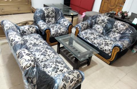 Saddam 6 Seat Sofa Set