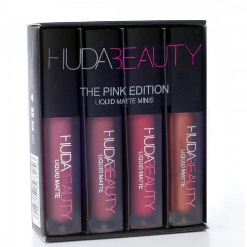 Huda Beauty Mini Liquid Matte Pink Edition Lipstick