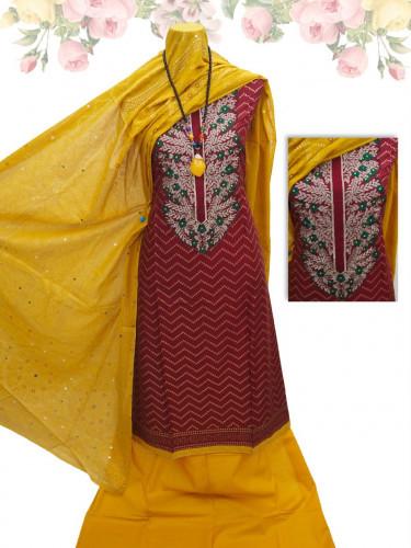Embroidered Design Boutique Salwar Kameez SK596