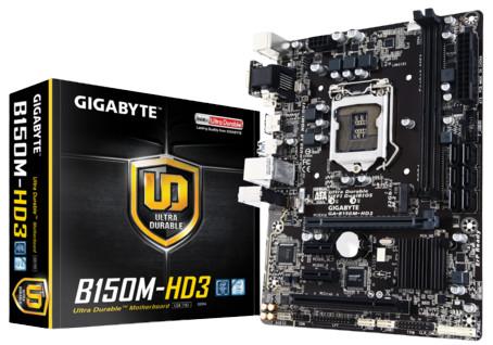 Gigabyte GA-B150M-HD3 DDR3 Dual 8CH Desktop Motherboard