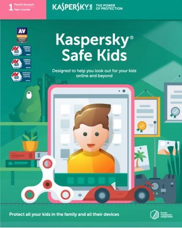 Kaspersky Safe Kids Parental Control App for 1 User