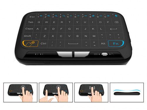 H18 Mini Wireless Touchpad & Keyboard