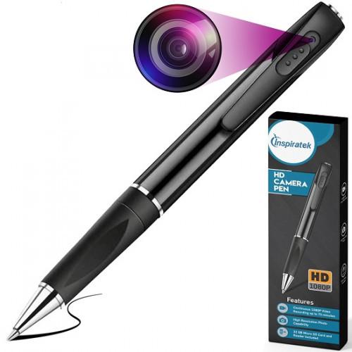 Inspiratek 1080p HD Camera Pen with Video Recording