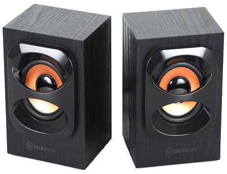 Micropack MS-212W Wood Speaker