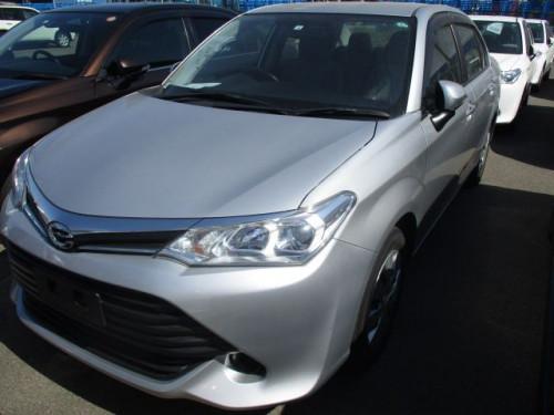 Toyota Axio X Non Hybrid 2016 Silver Color