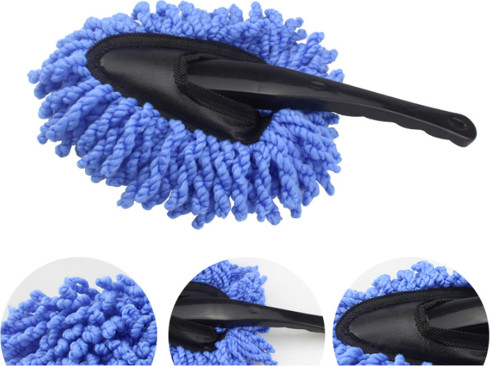 Microfiber Car Duster with Adjustable Handle
