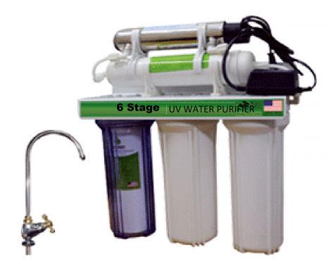 6-Stage Ultraviolet Water Filter System