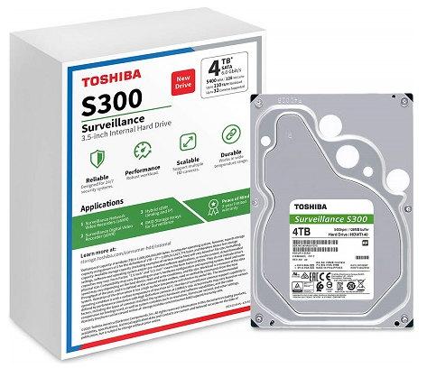 "Toshiba S300 4TB 3.5"" Surveillance Hard Drive"