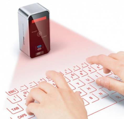 Wireless Laser Keyboard