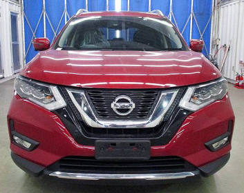 Nissan X-Trail 2018 Hybrid Red Color