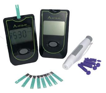 Acquik Diabetes Blood Sugar Monitor with 50 Test Strip
