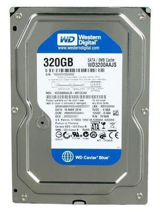 Western Digital WD Blue 320GB SATA 7200 RPM Internal HDD