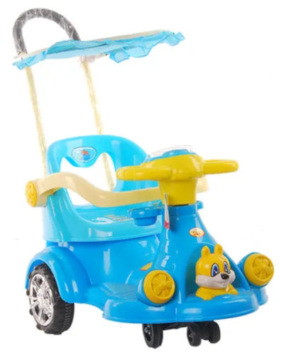 2-in-1 Baby Push Car