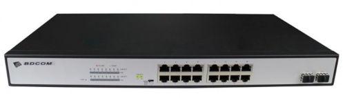 BDCOM S1518-16P-330 Ethernet PoE Switch