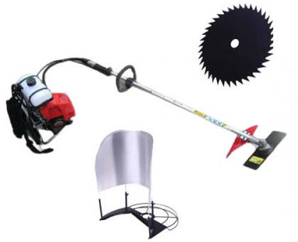 2 Stroke Paddy Cutter & Weed Cleaning Machine