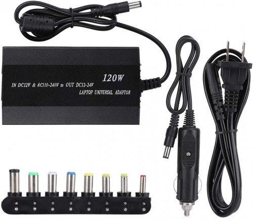 Universal Car & Home Power Adapter for Laptop