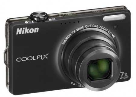 Nikon Coolpix S6000 14.2 Megapixel 7x Zoom Camera