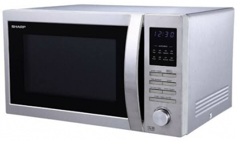Sharp R-84A0(ST)V Full Convection 25 Liter Microwave Oven