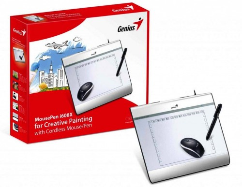 Genius MousePen i608X Graphic Tablet for Handwriting