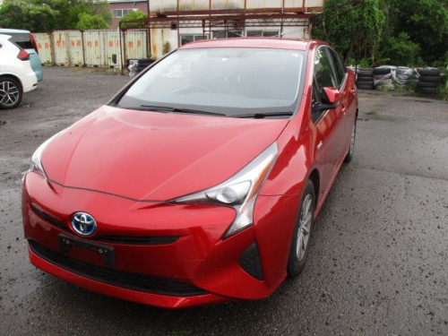 Toyota Prius S Touring Hybrid 2016 Red Color