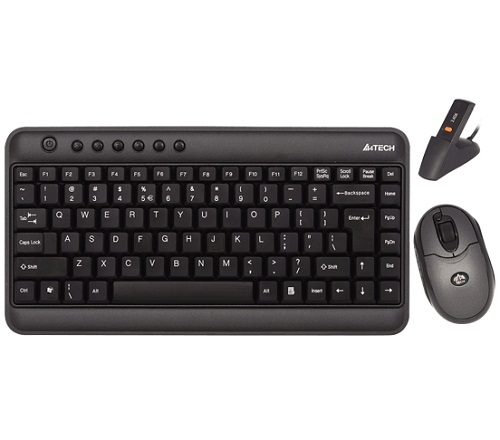A4tech 520d Wireless Mini Keyboard And Mouse Price Bangladesh Bdstall