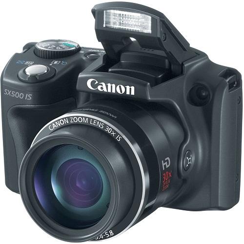 Canon PowerShot SX500 IS 30x Super Zoom Camera