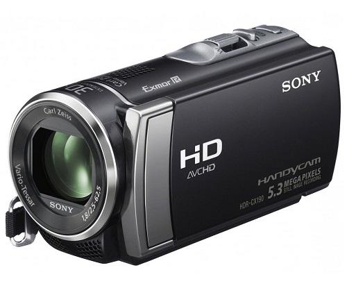 Sony Handycam HDR-CX190 Full HD Camcorder