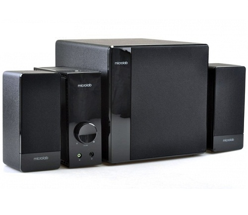 Microlab FC360 (10) Wooden Cabinet 2.1 Speaker System