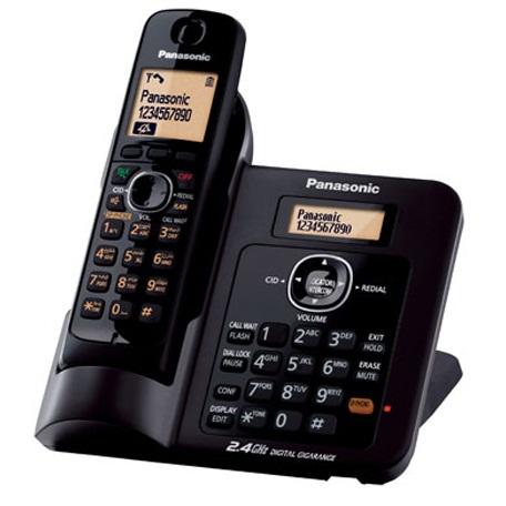Panasonic KX-TG3811BX Power Fail Talk Cordless Phone