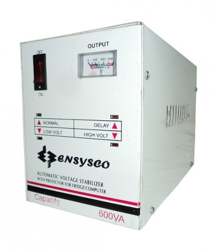 Ensysco 600VA Automatic AC Voltage Regulator (Stabilizer)