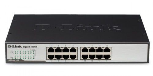 D-Link DGS-1016D 16-port Gigabit Ethernet Switch
